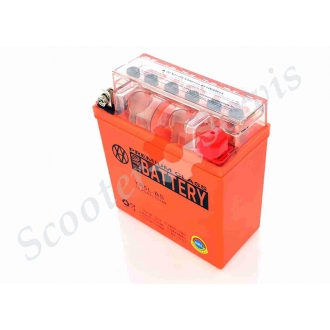Акумулятор YB5L-BS, 12V 5A, гелевий, високий
