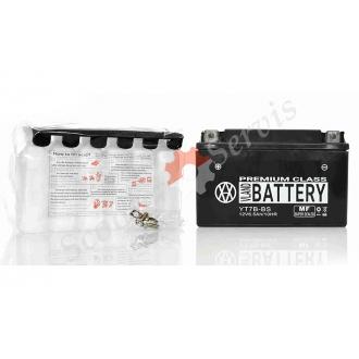 Аккумулятор YT7B‑BS, 12V 7A, кислотный, длинный