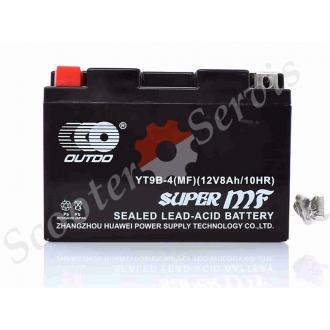 Аккумулятор YT9B‑4, 12V 9A