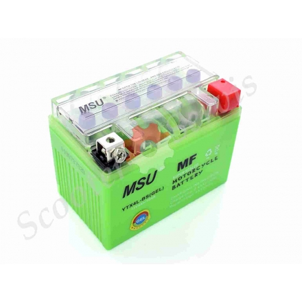 Акумулятор YTX4L-BS, 12V 4A, гелевий