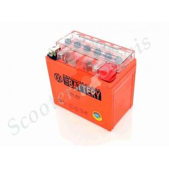 Акумулятор YTX5L-BS, 12V 5A, TERRI, гелевий