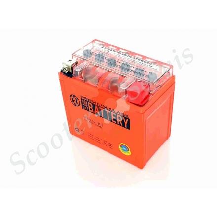 Аккумулятор YTX5L‑BS, 12V 5A, TERRI, гелевый