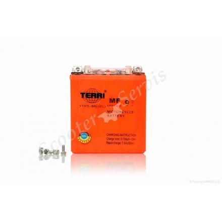 Аккумулятор YTX7L‑BS, 12V 7A, гелевый, высокий
