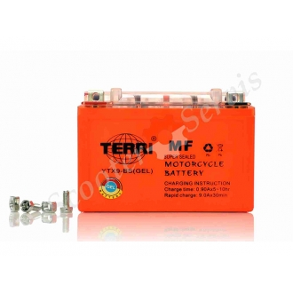 Аккумулятор YTX9‑BS, 12V 9A, гелевый, TERRI