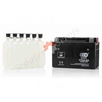 Аккумулятор UTX9‑BS, 12V 9A, кислотный, средних размеро...