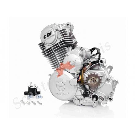 Двигатель в сборе 157FMI AC мото CB150, комплект с карбюратором
