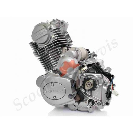 Двигун в зборі 162FMJ-2 AC, CB150, комплект з карбюратором