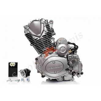 Двигатель в сборе 162FMJ‑2 DC, CB150, комплект с карбюратором и коммутатором