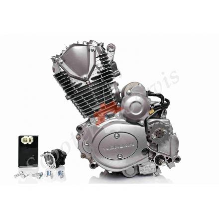 Двигун в зборі 162FMJ-2 DC, CB150, комплект з карбюратором і комутатором