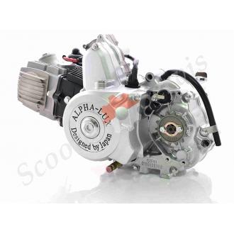 Двигатель в сборе Delta 110, комплектация с карбюратором,