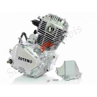 Двигатель в сборе JP156FMI‑5 мото CB125, комплект с карбюратором