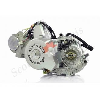 Двигатель в сборе, полуавтомат, Delta 125, комплект с карбюратором