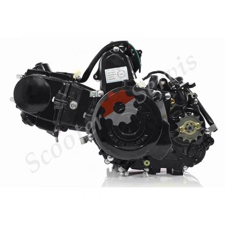 Двигатель в сборе, полуавтомат, Delta 50, комплект с карбюратором