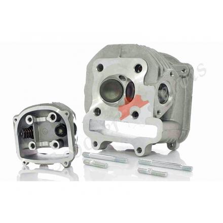 Головка циліндра з клапанами, гола, двигуна GY6 150