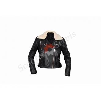 Кожаная куртка, косуха, женская, размер S