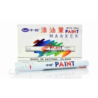 Масляный маркер для покрышек, белый