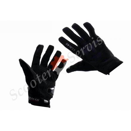 Мото-перчатки, XXL, чёрные, с сенсорными пальцами, VEMAR