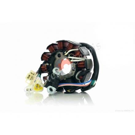 Генератор, статор скутера Yamaha CYGNUS ZY125, XC125, котушок 10+1